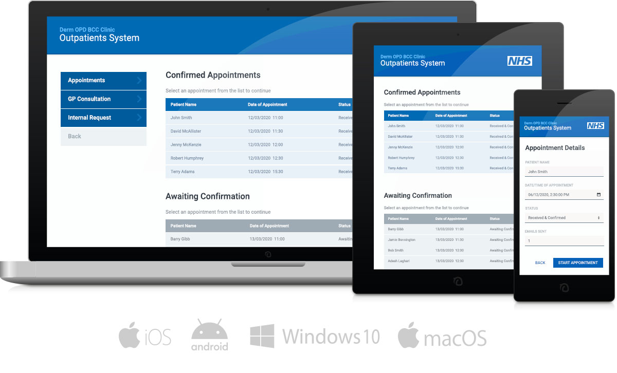 Build apps for any device, including smartphone, tablet and desktop