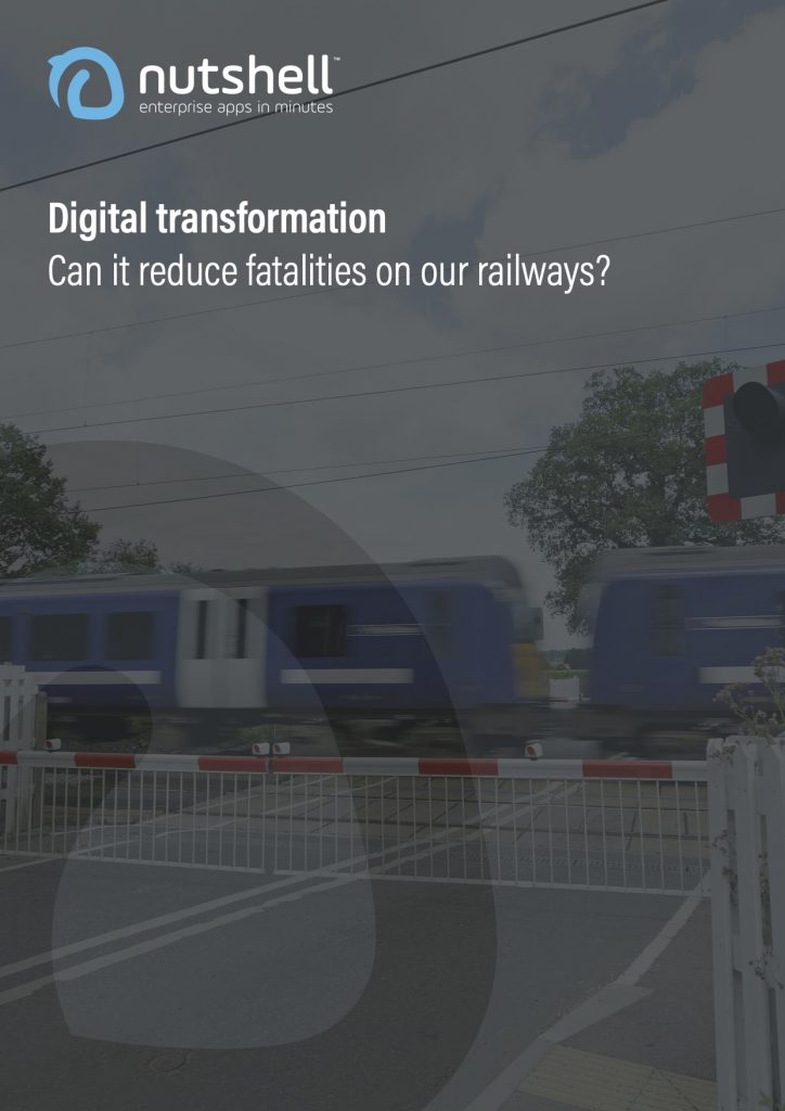 Nutshell digital transformation in rail