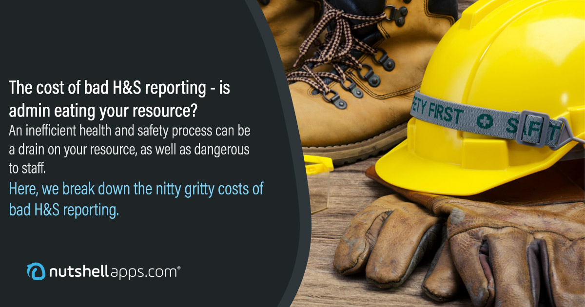 The cost of bad health and safety reporting: how data admin is eating your profits and resource